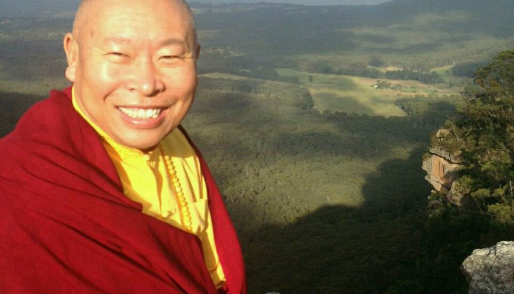 Wangdrak Rinpoche Blue Mountains Retreat 2014