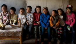 Yushu orphans-August 2015