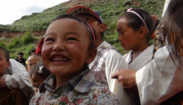Yushu orphans fall/winter 2011